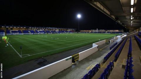 Chester football club stadium