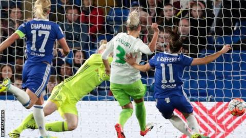 Chelsea v Wolfsburg