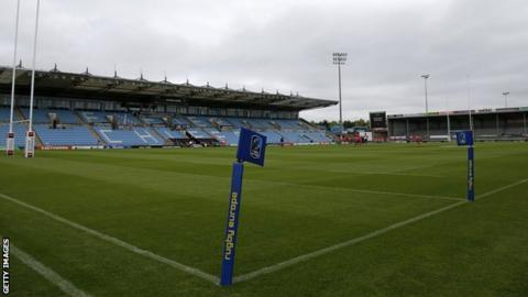A general view of Sandy Park
