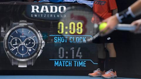 shot clock tennis