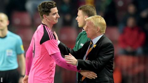 Kenny McLean and Gordon Strachan
