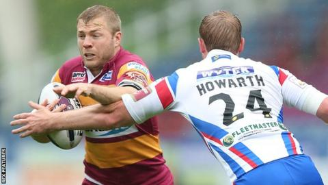 Ryan Hinchcliffe and Stuart Howarth