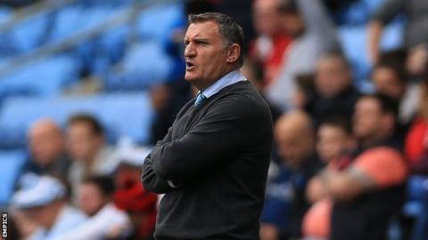 Tony Mowbray has been in charge of Coventry City since succeeding Steven Pressley in March 2015