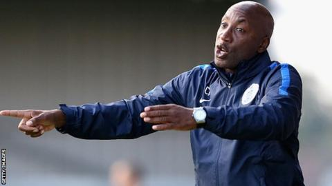 QPR manager Chris Ramsey