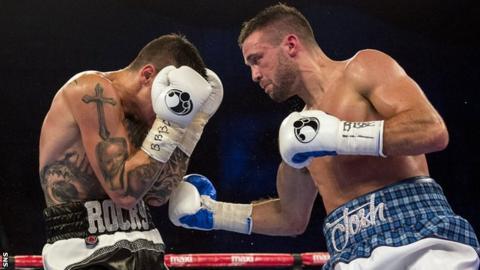 Josh Taylor beats Dave Ryan