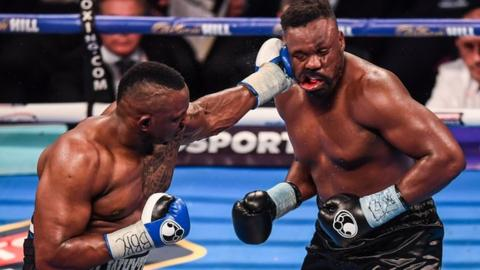Whyte (left) beat Chisora in an epic bout in 2016