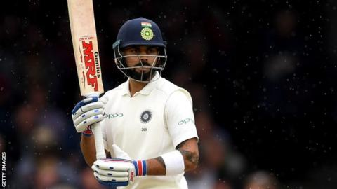 Kohli-Rahane salvage India from first day disaster at Trent Bridge