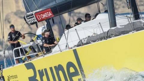 Brunel Racing yacht