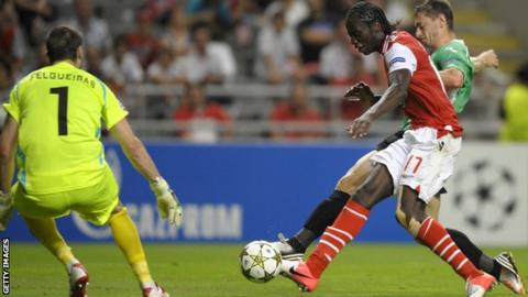 Eder scored four goals in his last three games for Sporting Braga in 2014-15
