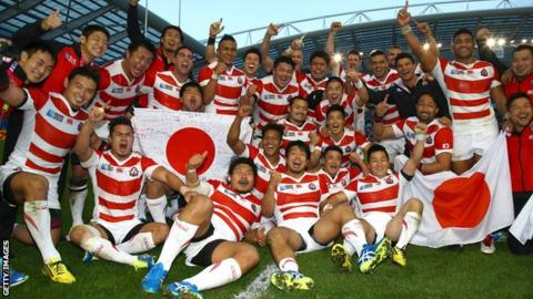 Japan make six changes to the line-up that started in the win over South Africa