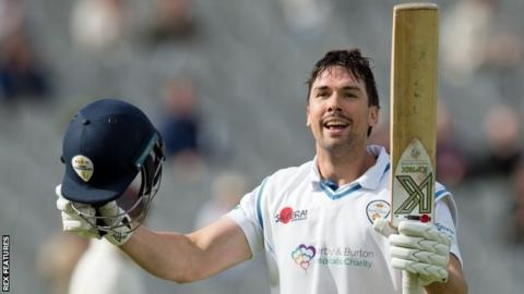 Former Middlesex and Essex batsman Billy Godleman has now made 20 first-class centuries - 14 of them for Derbyshire