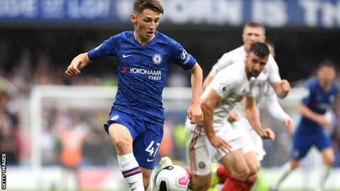 Gilmour has made the first-team breakthrough after impressing in Chelsea's development side