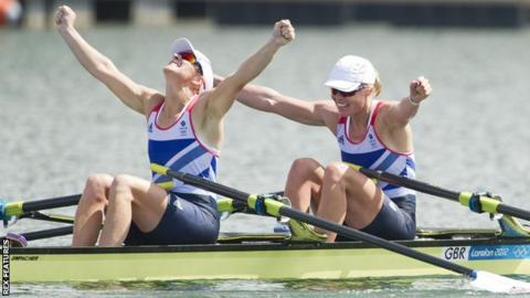 Katherine Grainger and Anna Watkins