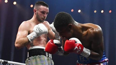 Josh Taylor against Ryan Martin