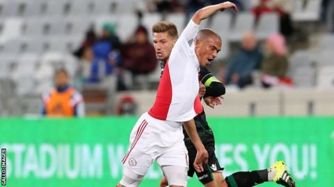Ajax Cape Town's Rui Ruzaigh Gamildien