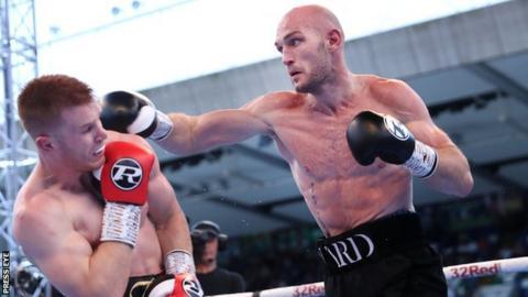 Steven Ward defeated Steve Collins Jr at Windsor Park in August