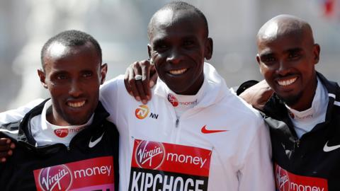 Kipchage, Farah and Kitata