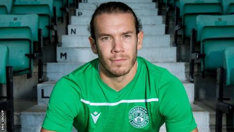 Chris Maxwell is a former room-mate of Hibs winger Daryl Horgan