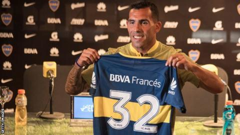 Carlos Tevez Labels CSL Spell A Holiday