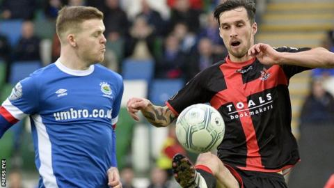 Linfield and Crusaders will meet for a place in the Irish Cup semi-finals
