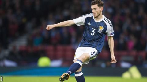 Scotland defender Andrew Robertson