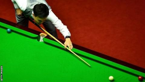 Marco Fu Has Reached The Last Eight At Crucible For First Time 2006