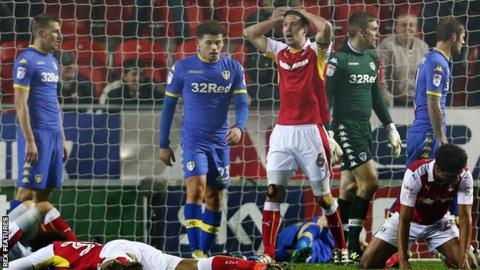 Rotherham United 1-2 Leeds United