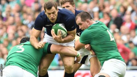 Scotland lost 28-22 to Ireland on Saturday