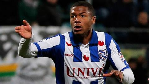 Herenveen's Kenneth Otigba