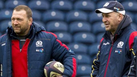 Humphreys (left) and O'Halloran are moving to Glasgow Warriors for next season