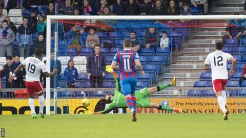 Souleymane Coulibaly scores a penalty