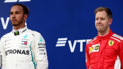 Hamilton and Vettel