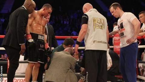 Blackwell post Eubank fight