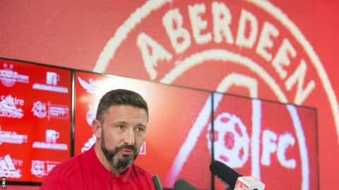 Aberdeen: Derek McInnes is committed to club despite Rangers speculation