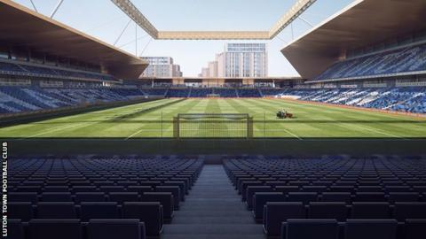 Luton Town new stadium