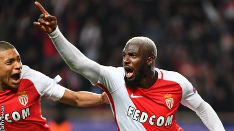 Tiemoue Bakayoko won the French title at Monaco