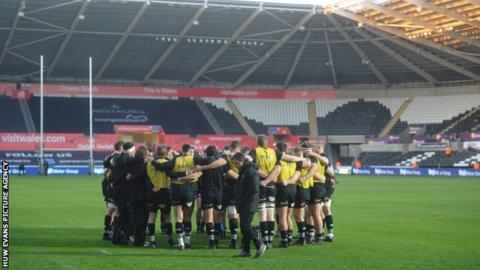 Ospreys have played at the Liberty Stadium since 2005