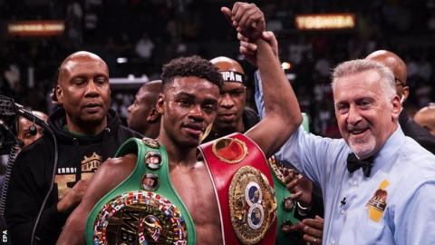 Boxer Errol Spence seriously injured in Dallas Ferrari crash