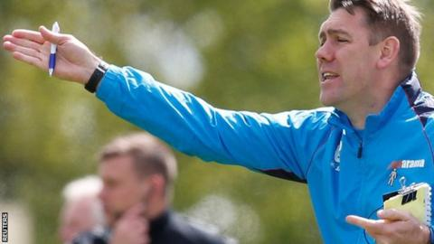 AFC Fylde manager Dave Challinor