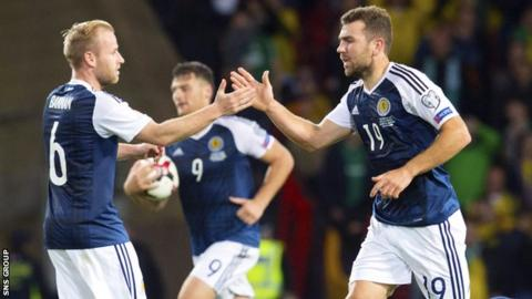 Scotland have picked up four points from three matches in Group F