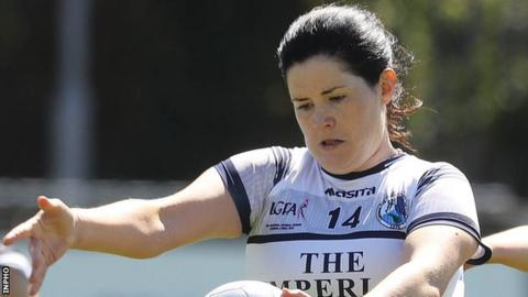 Aisling Maguire hit Cavan's winning point at Templeport
