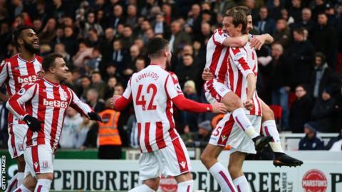 Joe Allen scored his first Premier League goal since February