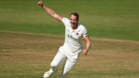 Josh Davey has taken 107 wickets for Somerset in all three formats of the game