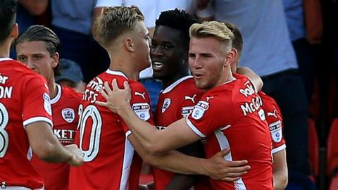 Ike Ugbo started half of his 18 games for Barnsley