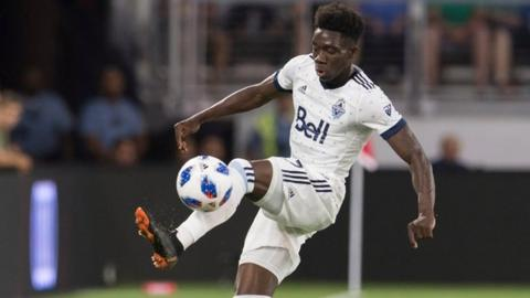 Bayern Munich complete $13.5 million signing of Alphonso Davies from Vancouver Whitecaps