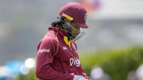 West Indies' Chris Gayle