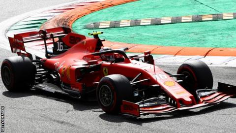 Singapore GP: Charles Leclerc says Ferrari expecting 'more difficult weekend'