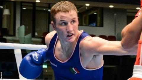 Michael O'Reilly won middleweight gold at last year's European Games