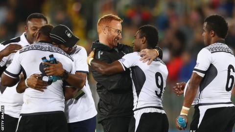 Ben Ryan, Fiji's rugby sevens coach.