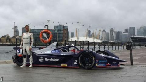 Formula E British driver Sam Bird